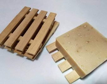 Spanish Cedar Soap Dish - Locally Handcrafted!