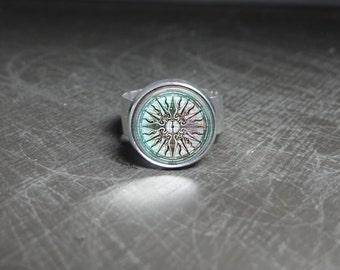 Lost City Ring City Jewelry Greek Mythology Jewelry Greek Ring Ancient Greece Ring Lost City of Atlantis Ring Ancient Ring Ancient Jewelry