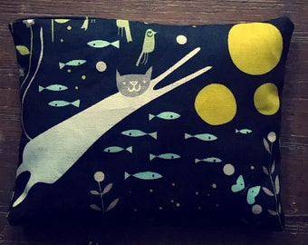 Cat Dreams Lavender Filled Sachet