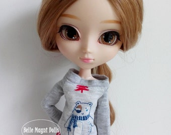 Beary blouse for pullip dal isul blythe azone obitsu dolls and similar