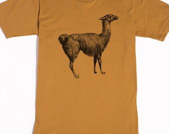 Llama Shirt - Men's Llama Shirt - Men's Shirt - Llama Art - Men's Graphic Tee - Llama Funny Tshirt - Animal Shirt