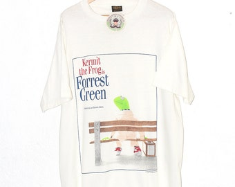 Vintage Kermit the Frog Forrest Gump Shirt