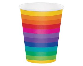 Rainbow Cups - Rainbow Party - Rainbow Baby - Rainbow Birthday - Rainbow Baby Shower - Unicorn Party - Unicorn Birthday - Unicorn Baby