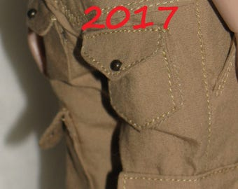 Cargo Shorts for Tonner 17.  24 colors+military color