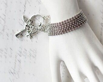 Everyday Bracelet - Silver Dainty Bracelet - Gift for Girlfriend - Bracelet for Wife -  Bracelet Thank You Gift - Gift for Her Under 25