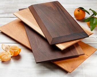 Wood serving board Etsy