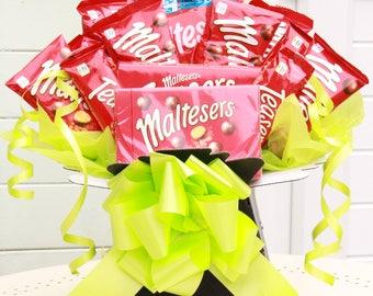 Chocolate Hamper, 15 Piece Malteser Chocolate Box Chocolate Bouquet,  Chocolate Selection Box, Chocolate Gift, Chocolate Tree, Perfect Gift
