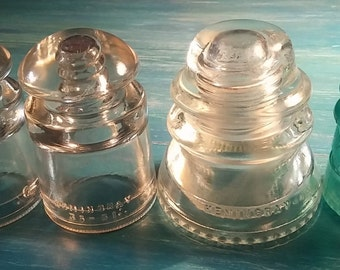 Glass Insulators,  Insulator Light, Insulator Art, Insulator Craft, Glass Insulator,  Insulator,  Clear Insulator