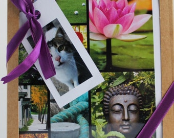 Greeting cards from photograph any occasion cat Buddha forest Lily rope cherry figure of winter golf city