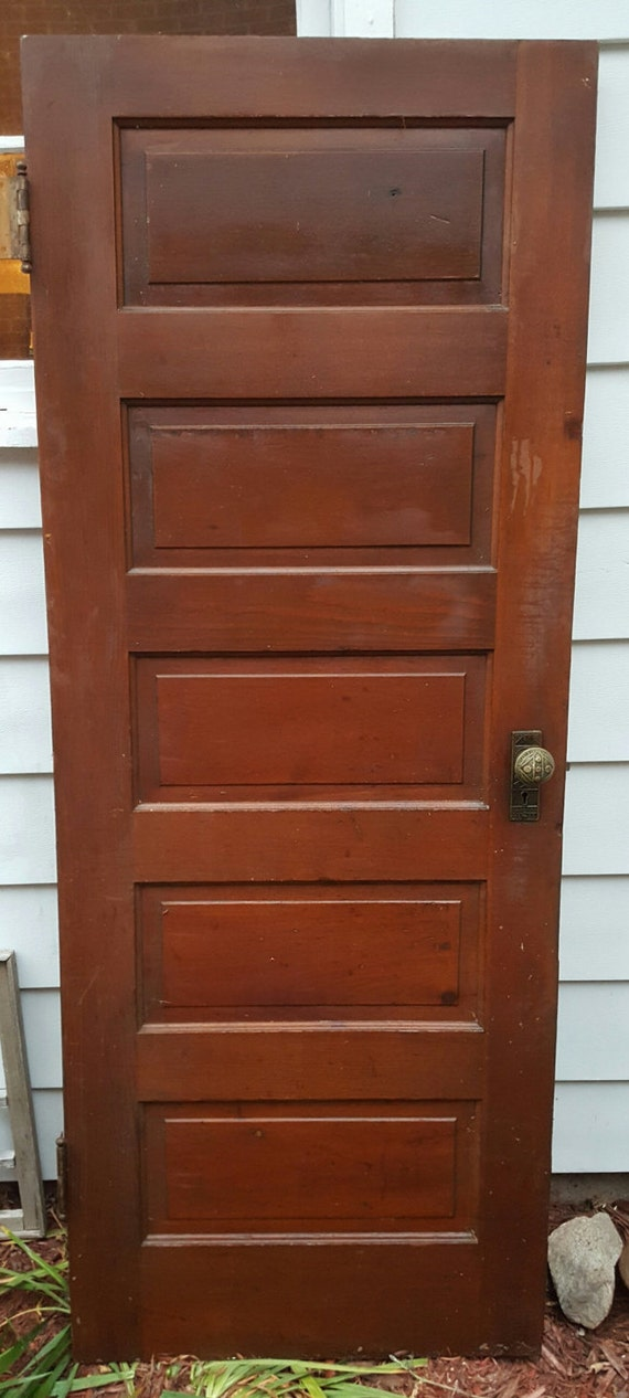 Old wood door antique interior door building supply for Interior door construction