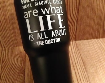 Dr. Who Quote Decal
