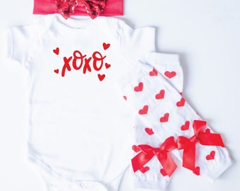 Girls Valentines Day Outfit, Baby Valentines Day Outfit, Girl Valentines Shirt, Girls Valentine's Day Outfit, Baby Girl Valentine's Day