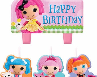 Lalaloopsy Cake Candle Set 4ct