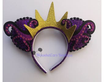 Ursula inspired Villain Mouse Ears