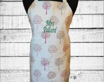 Autumn Tress Personalised Apron