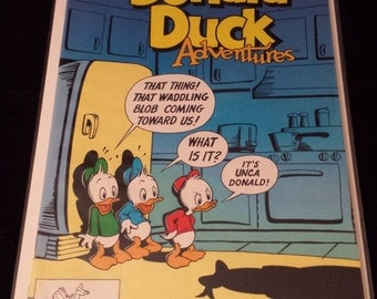 1991 Walt Disney's Donald Duck Adventures Comic, April #11