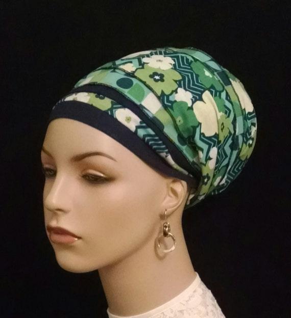 SUMMER DAYS cotton sinar tichel, tichels, apron tichels, head wraps, chemo scarves, mitpachat