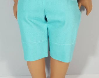 18 inch doll clothes Mint Capri Pant