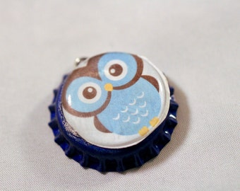 Animal Bottle Cap Etsy