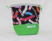 Sock Project Bag // Emily Sack // Socktacular