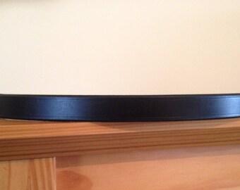 Handmade Italian Leather Hunter Browband Pony/Cob/Full in Black/Brown
