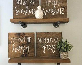 You Are My Sunshine Set - Wood Signs