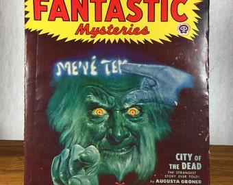 Famous Fantastic Mysteries Pulp Magazine