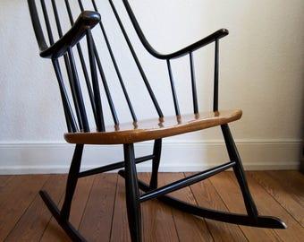 Chair rocking chair Scandinavian lena larsson 1960