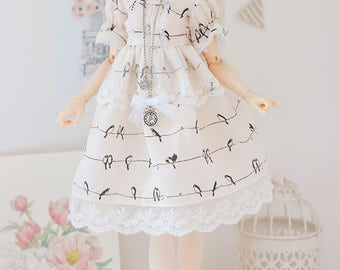 Waiting for spring minifee Dress Set