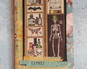 Tall Steampunk, Haunted, Halloween Notebook/Journal