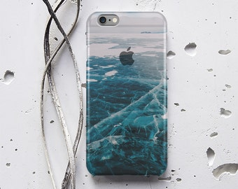 Winter Sea Phone Case Christmas iPhone 4 Phone Case  iPhone 6 Case Ice Samsung Galaxy S6 Galaxy S7 Edge Case Samsung S7 Cover Nature p018