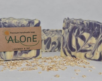 Lavender & Oat Vegan Soap Bar