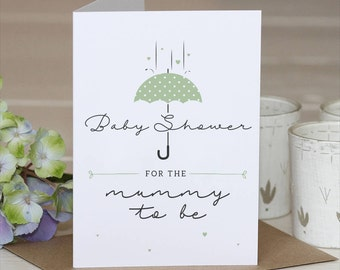 Baby Shower Card // Baby Shower // Mum to be // Mummy to be card