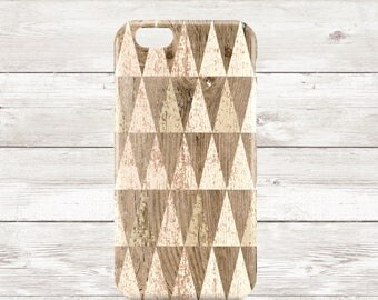 Geometric wooden shapes - phone case,  iPhone 6, iPhone6s, iPhone SE, iPhone 5/5S, iPhone5C, Samsung Galaxy S6, Samsung Galaxy S6 Edge