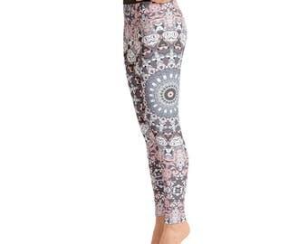 Mandala Pants - Womens Leggings, Mandala Yoga Leggings, Yoga Tights, Yoga Pants, Printed Leggings, Stretch Pants