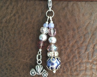 Carriage Planner Charm (Purple)