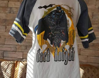Vintage batman T-shirt from the 80s new condition xl boys and girls size  medium  Women /xs men