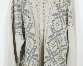 Vintage Sweater, STEFANEL, Vintage Knit Pullover, 80s, 90s, oversized look