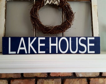 Rustic Wood Sign~Lakehouse~Gifts~Rustic Lakehouse Sign~Lakehouse Decor~Reclaimed Wood Sign~Reclaimed Lakehouse Sign~Lakehouse Decor~Country