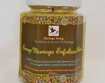 Beautifying Orange Moringa Face and Body Scrub