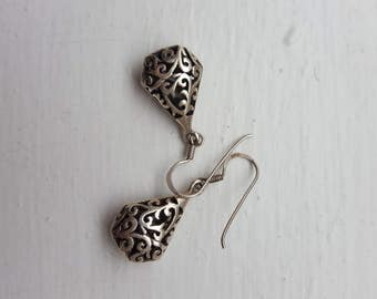 Silver Earring Moroccan inspiration