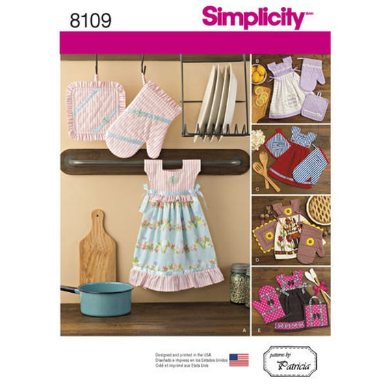 Simplicity 8109 OS Sewing Pattern New And Unused Home Decor