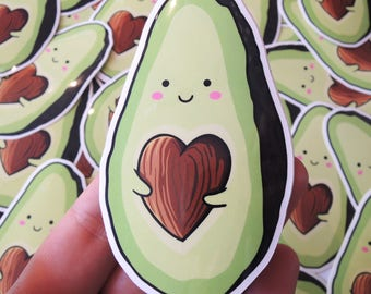 LOVACADO AVOCADO | Vinyl Die Cut Sticker