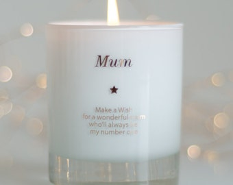 Personalized Gift For Mum ,Mothers Day Gift ,Mum Memorial Candle , Mum Poem ,Candle ,Thoughtful Mum Gift ,Thank You Mum Gift ,Mum Gift