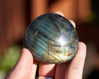 Labradorite - Medium Palm Stone