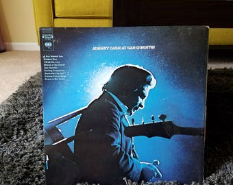Johnny Cash At San Quentin Vinyl LP / Man In Black