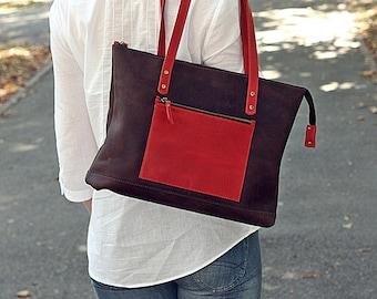 Leather handbag, Leather women bag , shoulder bag, leather laptop bag, leather messenger bag, leather bag purse, women handbag