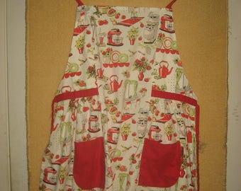 Retro 1950s Style Apron