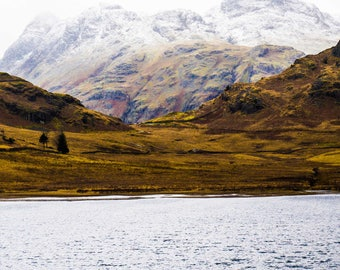 Lake Photography - Lake District - Landscapes - Mountains - Snow - Nature Photography - National Park - Mountain Lake - 0086