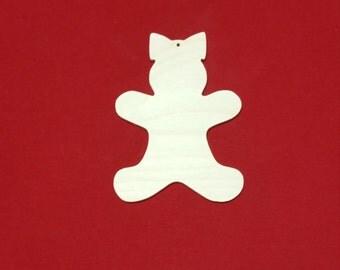 Ornament,Gingerbread Girl,Gingerbread Girl Ornament,Christmas Ornament,Wood Ornament